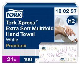 (H2) 100297 Tork Multifold Exta Soft kéztörlő (régi név: Interfolded)