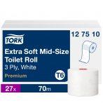 (T6) 127510 Tork Mid-Size Extra Soft toalettpapír (régi név: kompakt tekercses)