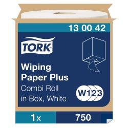 (W1/W2/W3) 130042 Tork törlőpapír plusz, tekercses törlő 420 ipari papírtörlő