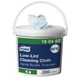 (W10) 190492 Tork szöszszegény tisztítókendő ipari papírtörlő (Régi cikkszám: 90492)