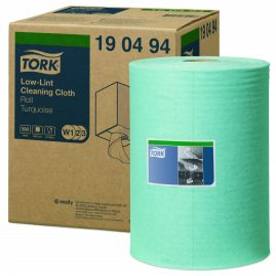(W1) 190494 Tork szöszszegény tisztítókendő tekercses ipari papírtörlő (Régi cikkszám: 90494)