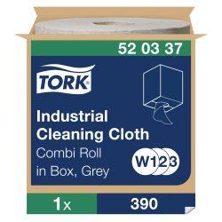 (W1/W2/W3) 520337 Tork ipari tisztítókendő tekercses  520 ipari papírtörlő