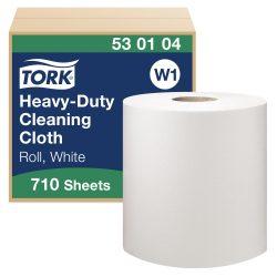 (W1) 530104 Tork nagyteljesítményű tisztítókendő tekercses 530 ipari papírtörlő