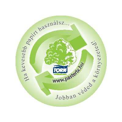 tork papír újrahasznosítás