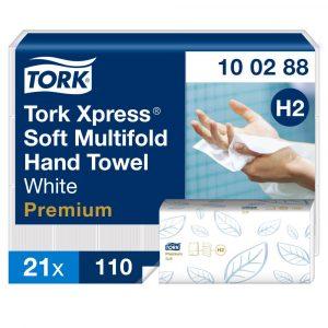 (H2) 100288 Tork Multifold Soft kéztörlő