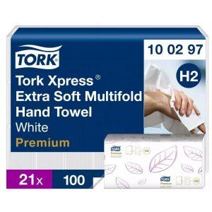 (H2) 100297 Tork Multifold Exta Soft kéztörlő