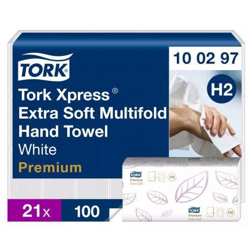 H2 100297 Tork Multifold Exta Soft kéztörlő papírtörlő