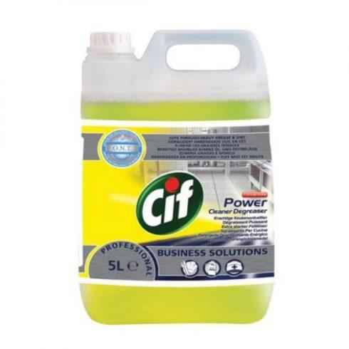 Cif Prof. Power Cleaner Degreaser-Erős zsírtalanító tisztítószer (5 l)