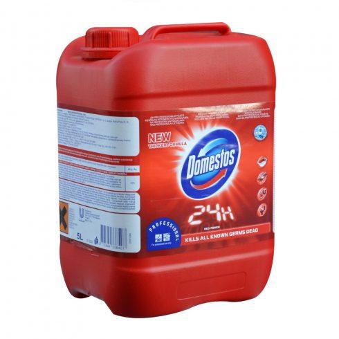 Domestos Prof. Red power-Fertőtlenítőhatású tisztítószer (5 l)