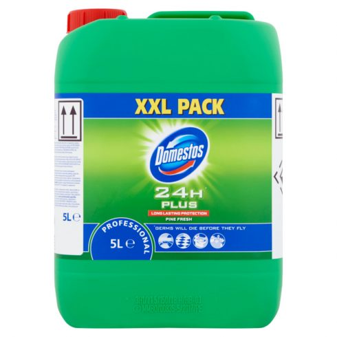 Domestos Prof. Pine Fresh friss illatú fertőtlenítő lemosószer (5 l)