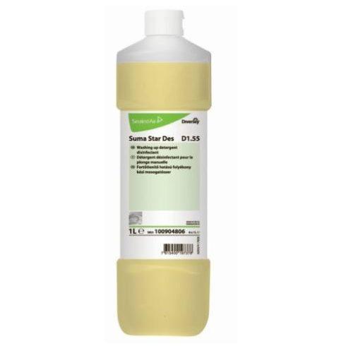Suma Star Des D1.55 fert. hatású kézi mos.- és tiszt.szer (1l)