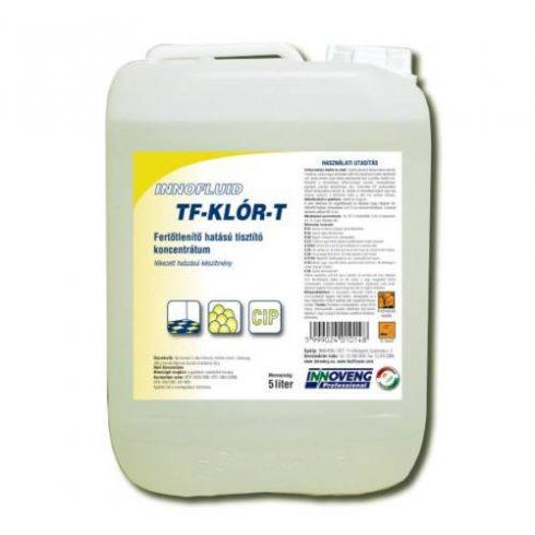 11014  Inno Chlor T Baktericid, fungicid hatású általános tisztítószer (Régi név :Innofluid TF Klór T) (5L)