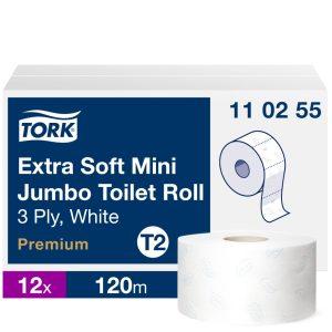 T2 110255 Tork mini Jumbo midi toalettpapír toalett wc papír