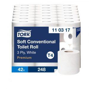 (T4) 110317 Tork kistekercses toalettpapír toalett wc papír