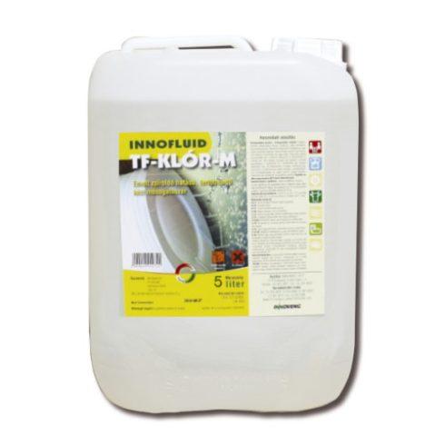 11034  Inno Chlor-M extra fertőtlenítő hatású kézi mosogatószer 5L(régi név:Innofluid TF Klór M  Baktericid, fungicid hatású kézi mosogatószer (5L) )