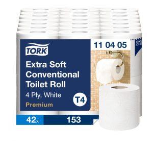 (T4) 110405 Tork kistekercses toalettpapír toalett wc papír