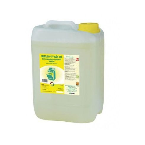 11042 Inno Chlor-DW (Tf-Klór MG) fert. gépi mosogatószer 20Lrégi név: Innofluid TF Klór MG  Baktericid, fungicid hatású gépi mosogatószer (20L))
