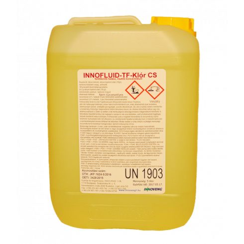 11064 Innofluid TF Klór CS  Baktericid, fungicid hatású csempetisztító (5L)