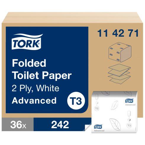 T3 114271 Tork hajtogatott toalettpapír
