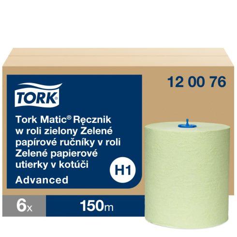 H1 120076 Tork Matic zöld tekercses kéztörlő papírtörlő Régi cikkszám: 290076