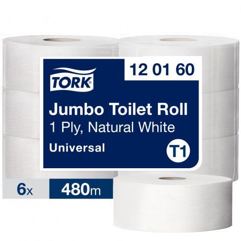 T1 120160 Tork Jumbo nagy toalettpapír toalett wc papír