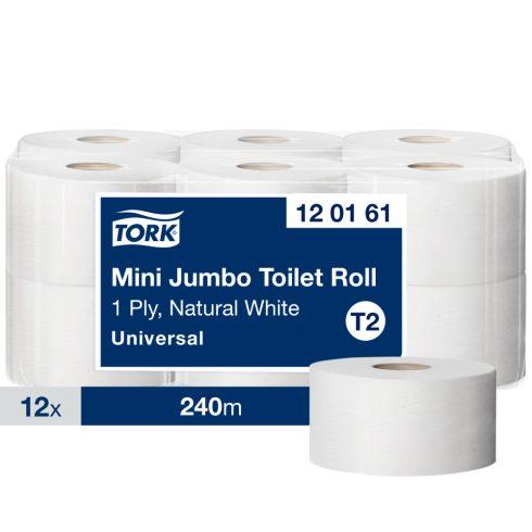 T2 120161 Tork mini Jumbo midi toalettpapír toalett wc papír