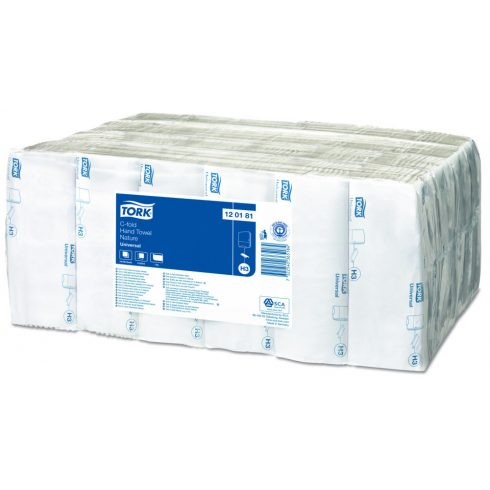 (H3) 120181 Tork Universal C hajtogatású hajtogatott kéztörlő papírtörlő