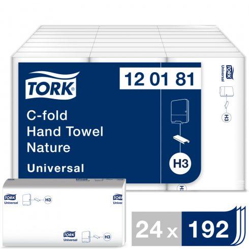 H3 120181 Tork Universal C hajtogatású hajtogatott kéztörlő papírtörlő