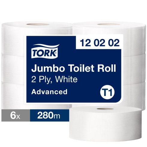 T1 120202 Tork Jumbo toalettpapír toalett wc papír