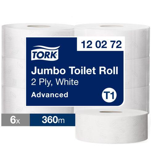 T1 120272 Tork Jumbo toalettpapír toalett wc papír