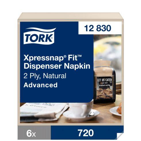 N14 12830 Tork Xpressnap Snack® Extra Soft adagolós szalvéta Fehér