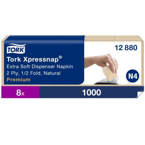 N4 12880 Tork Xpressnap® Extra Soft adagolós szalvéta Natúr