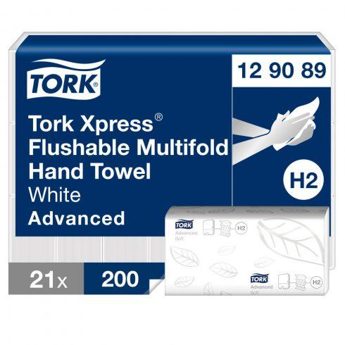 H2 129089 Tork Multifold Xpress® Soft toalettbe dobható  kéztörlő papírtörlő