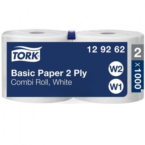 W2 129262 Tork általános törlőpapír kombi tekercses ipari papírtörlő
