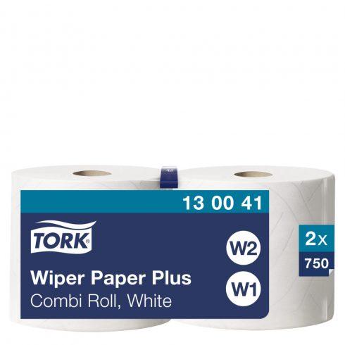 W2 130041 Tork törlőpapír plusz, tekercses törlőpapír 420 ipari papírtörlő