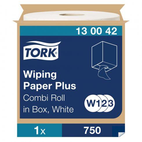 W3 130042 Tork törlőpapír plusz, tekercses törlő 420 ipari papírtörlő