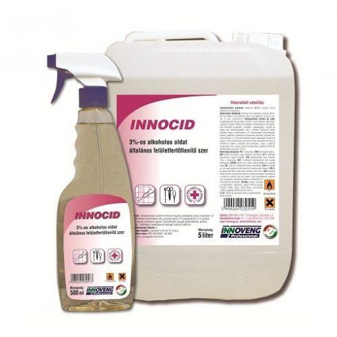13054 InnoCid műszer  eszköz  és felületfertőtlenítő oldat 3% (5L)
