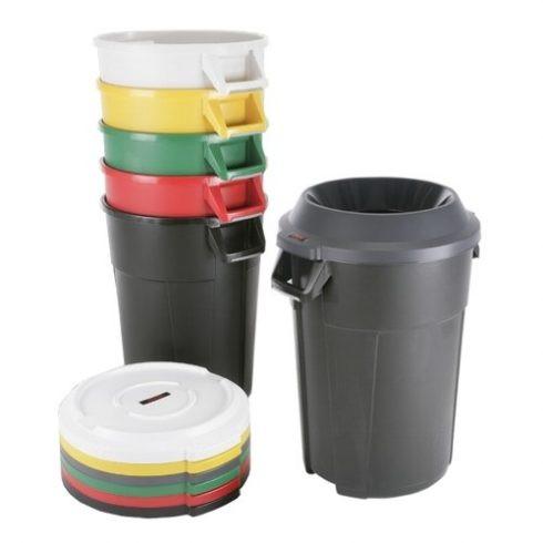 137703 Szelektív hulladékgyűjtő edény TITAN 85L literes, fedővel