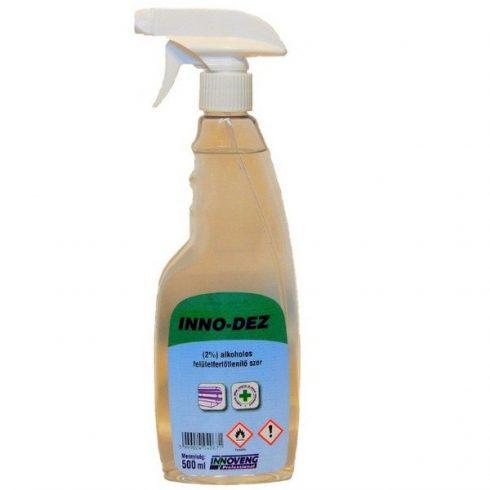 14067 Inno-Dez 2% felületfertőtlenítő oldat 0,5L pumpás(régi név:Inno Dez 2%-os alkoholos oldat )