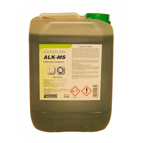15064 Innofluid ALK-MS általános nagyhatású mosogatószer (20L)
