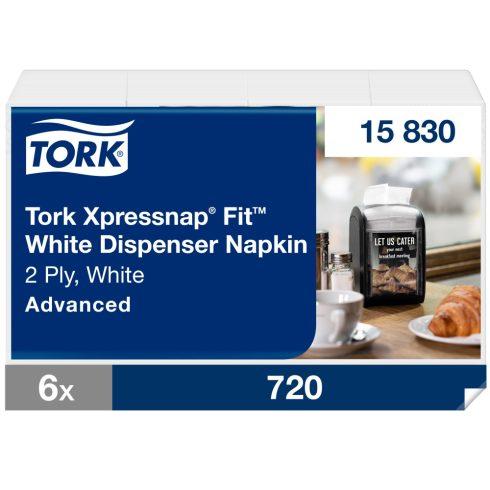 N14 15830 Tork Xpressnap Snack® Extra Soft adagolós szalvéta Bordó
