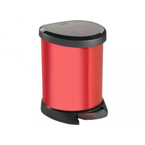 185380 Curver pedálos szemetes kuka 5 L piros