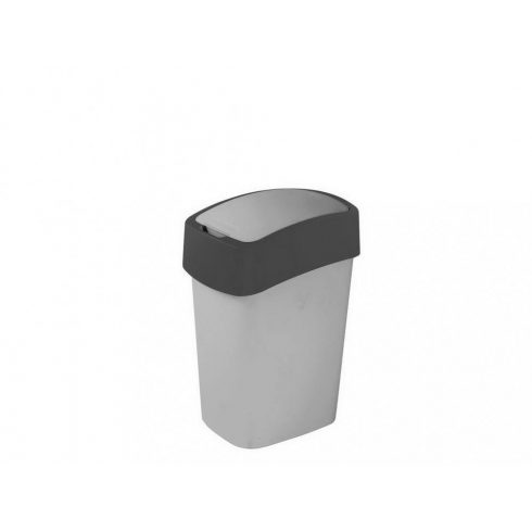 186133 Curver PACIFIC FLIP BIN  billenős beltéri szelektív hulladékgyűjtő szemetes kuka 10L szürke