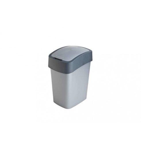 186157 Curver PACIFIC FLIP BIN  Billenős beltéri szelektív hulladékgyűjtő szemetes kuka  25L szürke