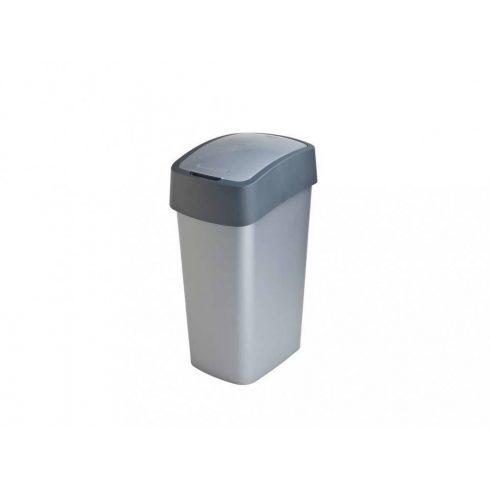186181 Curver PACIFIC FLIP BIN  Billenős beltéri szelektív hulladékgyűjtő szemetes kuka  50L szürke