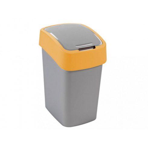 190169 Curver PACIFIC FLIP BIN  Billenős beltéri szelektív hulladékgyűjtő szemetes kuka  25L sárga