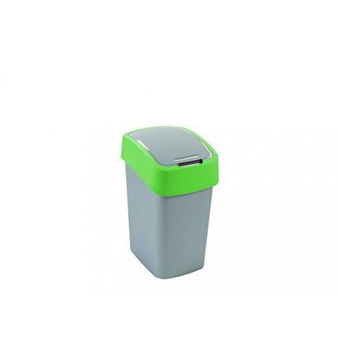 190173 Curver PACIFIC FLIP BIN  Billenős beltéri szelektív hulladékgyűjtő szemetes kuka  25L zöld