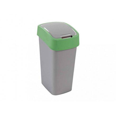 195022 Curver PACIFIC FLIP BIN  Billenős beltéri szelektív hulladékgyűjtő szemetes kuka  50L zöld