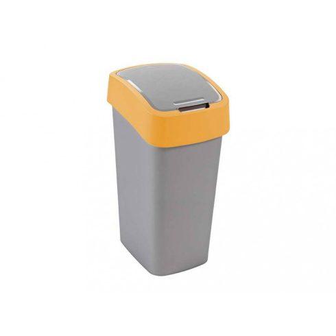 195023 Curver PACIFIC FLIP BIN  Billenős beltéri szelektív hulladékgyűjtő szemetes kuka  50L sárga