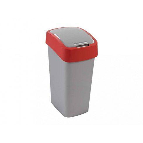 195024 Curver PACIFIC FLIP BIN  szelektív hulladékgyűjtő szemetes kuka  50L piros
